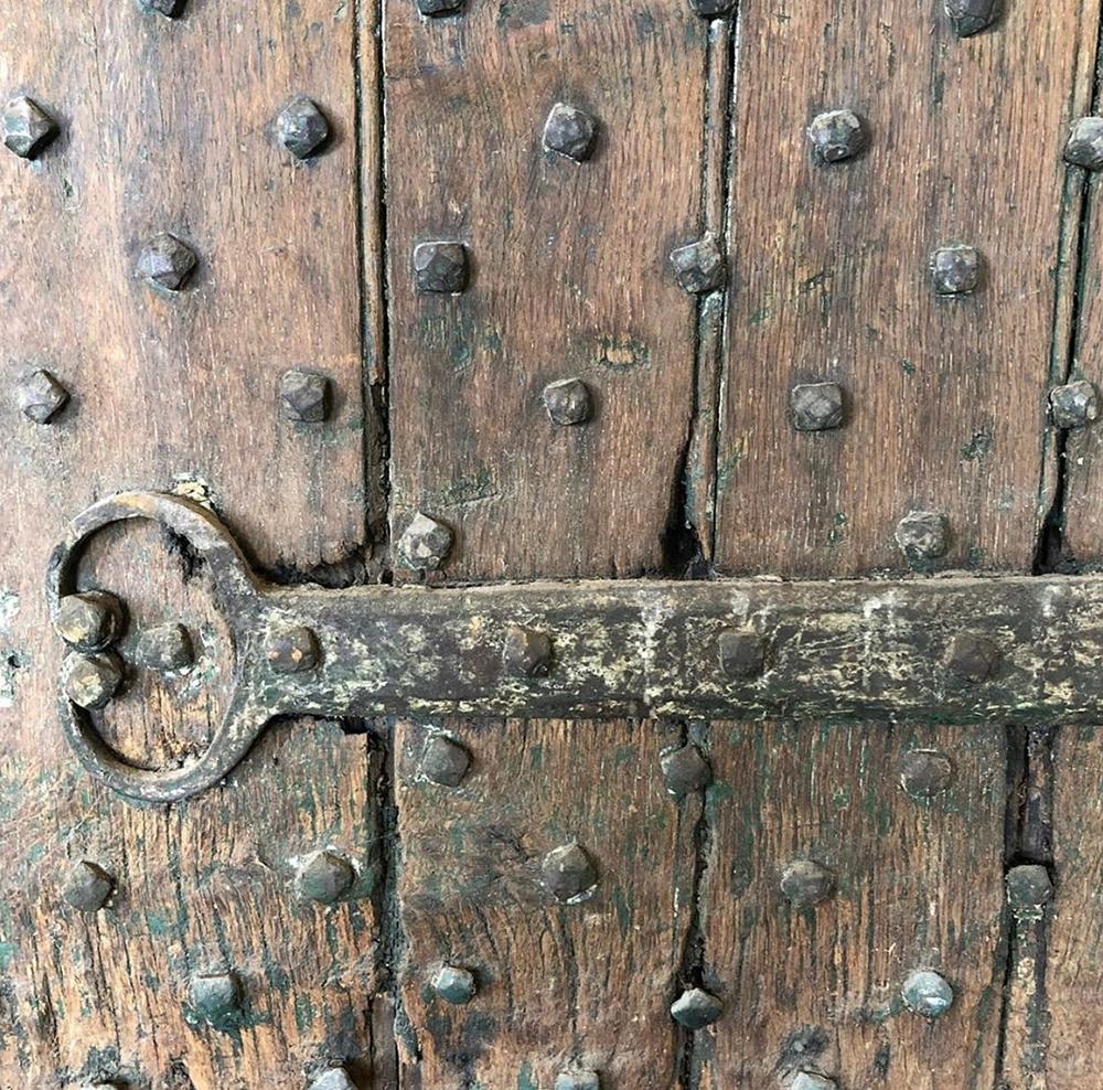 17th Century English Studded Door