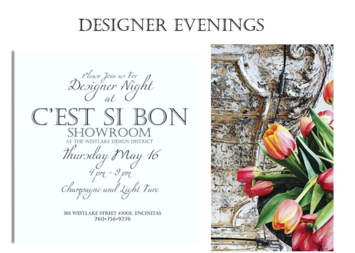 Designer Evenings